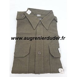 chemise moutarde officier US wwII