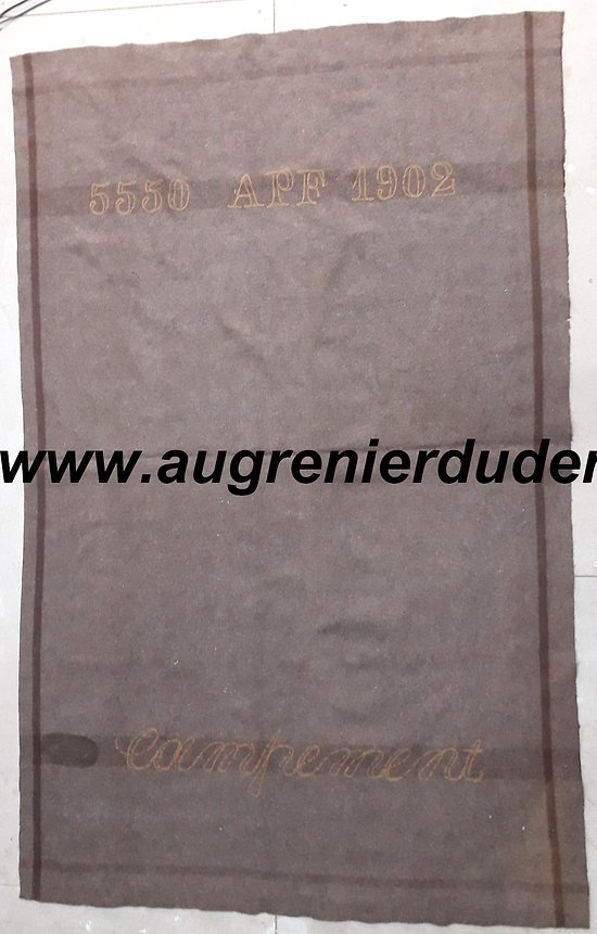 Couvre pied / couverture 1902 France wwI