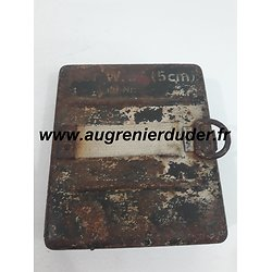 Boite entretien mortier 5cm Allemagne wwII