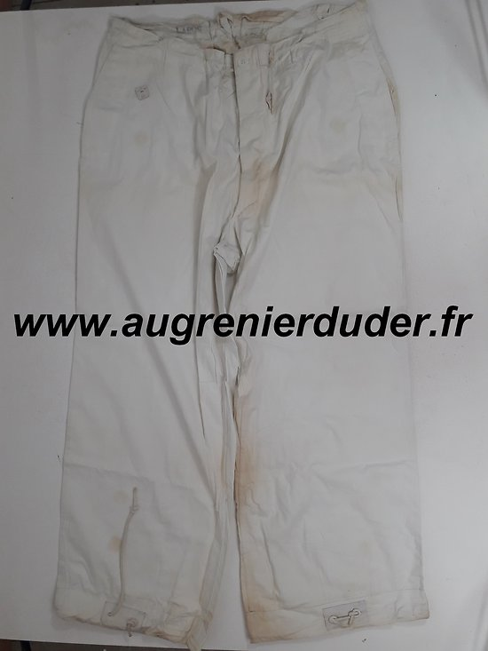 Pantalon camouflage blanc US wwII