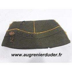 Bonnet de police / calot Belgique 1940
