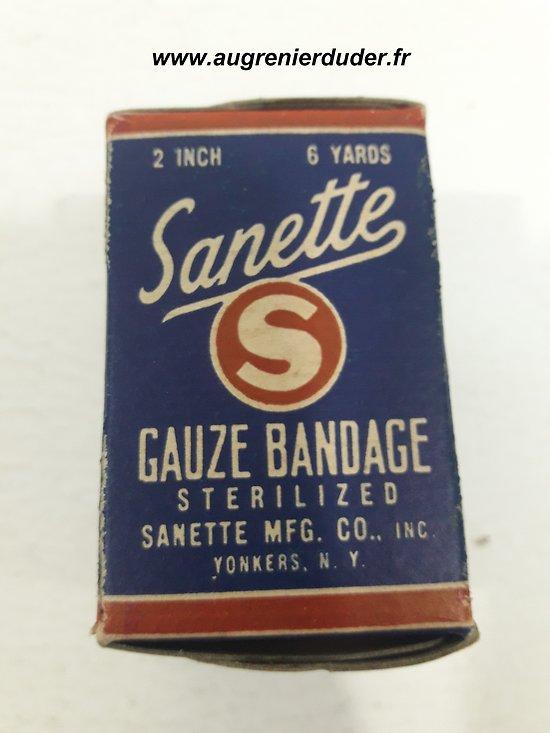Compresse / bandage Sanette US wwII
