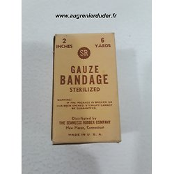 Compresse / bandage Seamless Rubber USA wwII