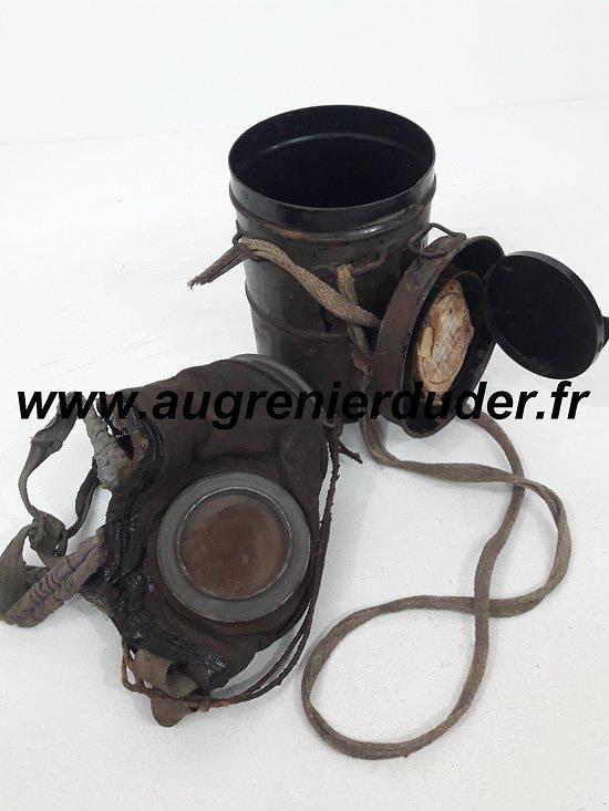 Ledermaske modèle 1917 Allemagne wwI