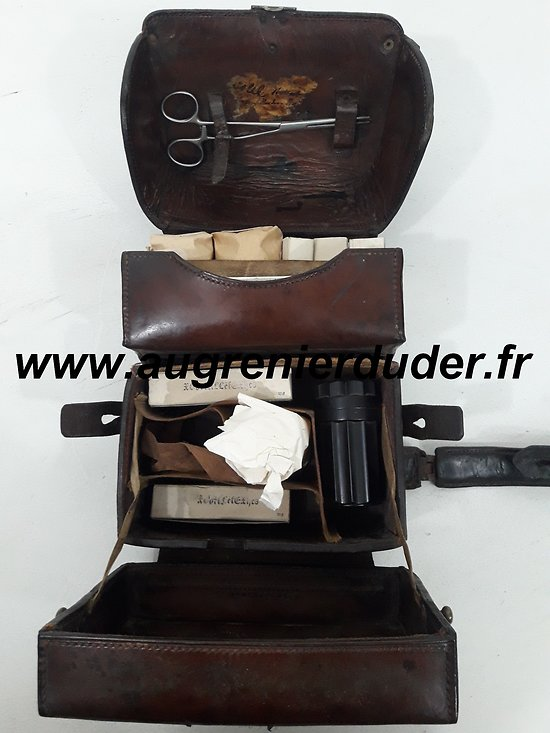 Trousse veterinaire Allemagne wwII