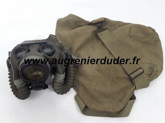 Masque à gaz tankiste -artilleur / optical gas mask USA wwII
