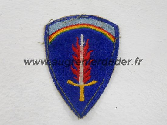 Patch SHAEF US wwII