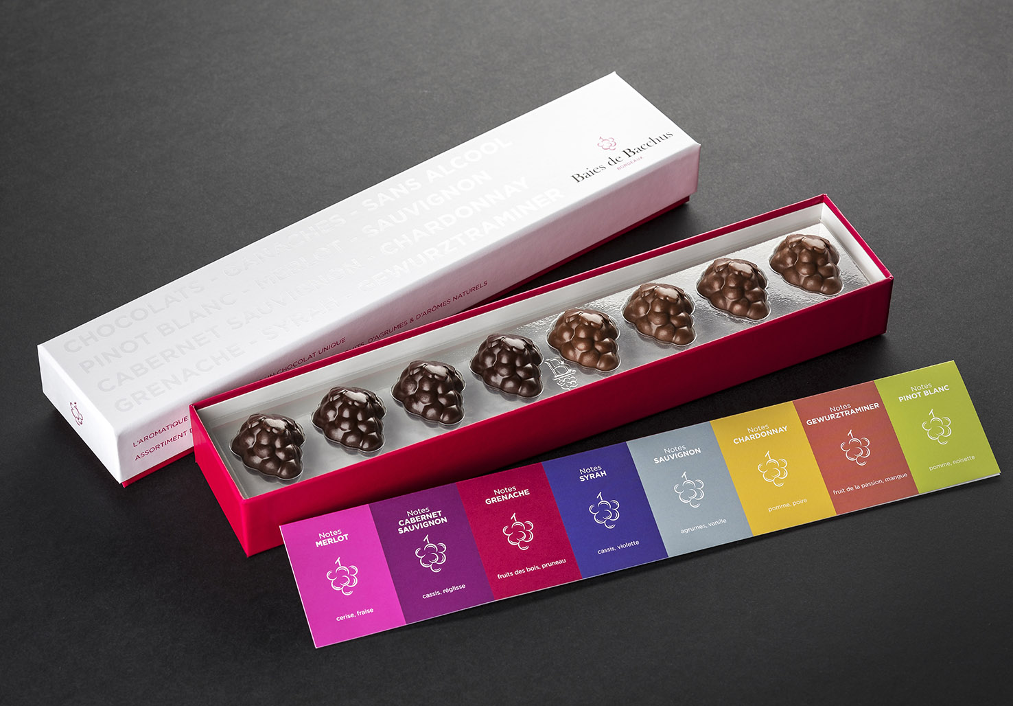 Chocolats de Bordeaux  - Offrez-vous un cépage