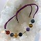 Bracelet chemin de vie en pierres naturelles et perles argent 925