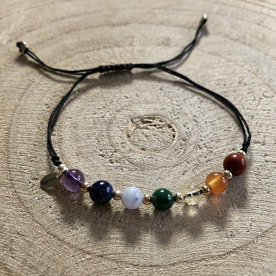 Bracelet 7 chakkras