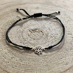 Bracelet porte-bonheur Fleur de Lotus
