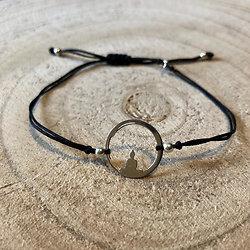 "Bracelet porte-bonheur ""Bouddha"""