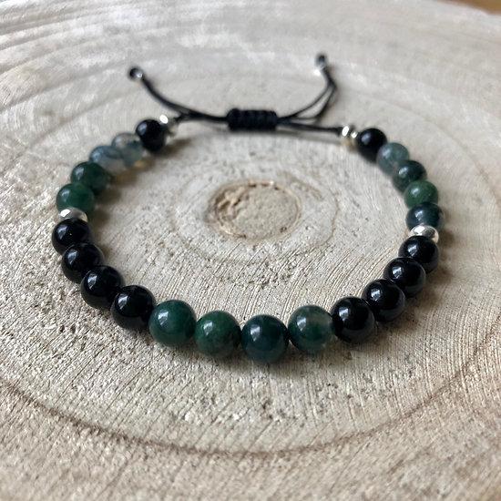 Bracelet Duo d'agates