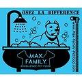 Serviette 76x150cm Ultra-Absorbante en Microfibre MAX FAMILY