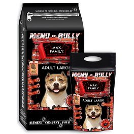 Croquettes chien grande race BULLY MAX ADULT LARGE 12kg