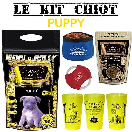 Kit chiot PUPPY - Menu BULLY By Max Family Pet Food