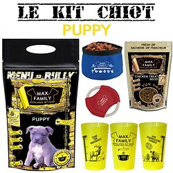 Kit chiot PUPPY - Menu BULLY By Max Family Pet Food