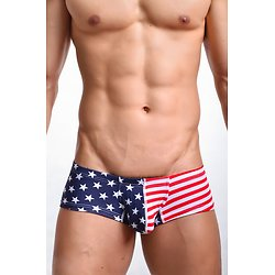 Shorty Court homme USA Style Effet Paquet