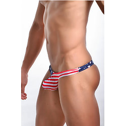 Mini String homme USA Style Effet Paquet