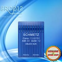 Aiguilles à Broder SCHMETZ DBxK5 80 SUK (plaquette x10)