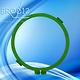 OFAM Frame / Cerceau Rond 250 mm