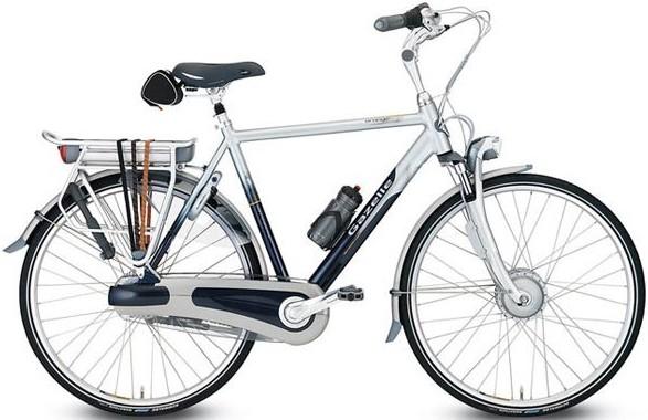 Le vélo électrique BUZIBI Gazelle Orange Innergy H