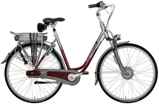 Le vélo électrique BUZIBI Gazelle Orange Innergy