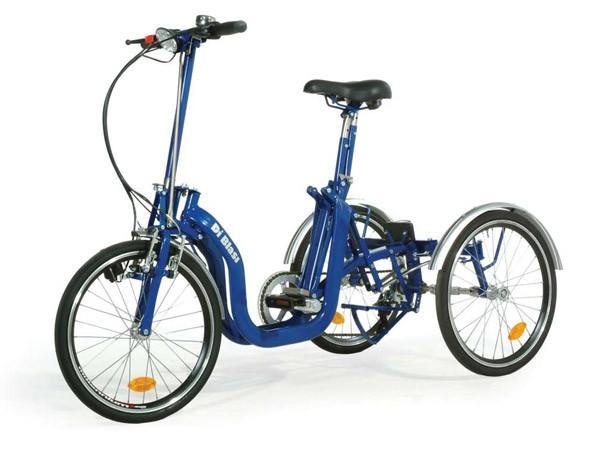 Le tricycle électrique BUZIBI Helkama Di Blasi R32