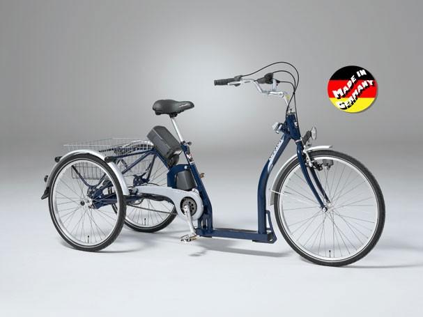 Le tricycle électrique BUZIBI Helkama Merano