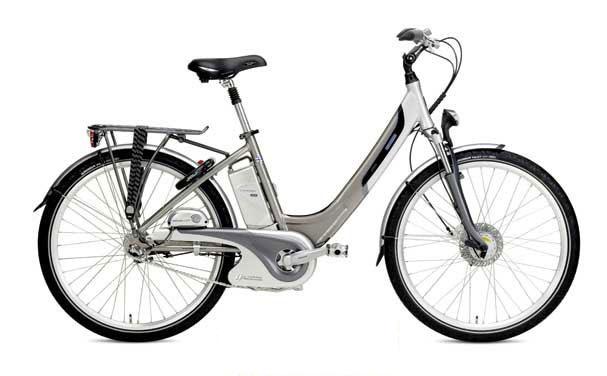 Le vélo électrique BUZIBI Helkama E 2300 Nexus Auto-Lithium