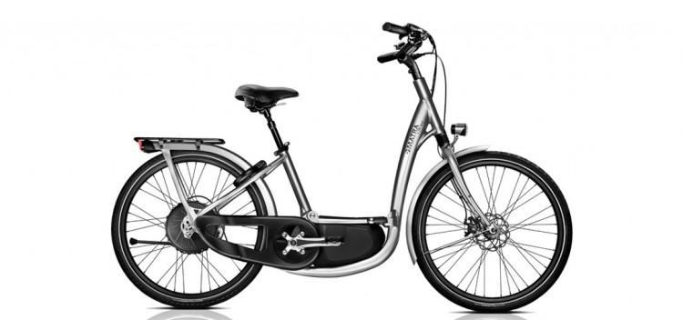 Le vélo électrique BUZIBI Matra I-Flow Courroie