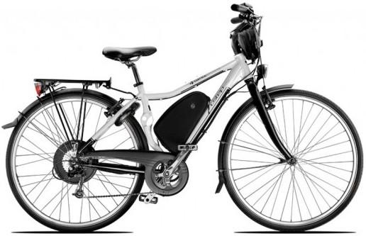 Le vélo électrique BUZIBI Matra I-Step City