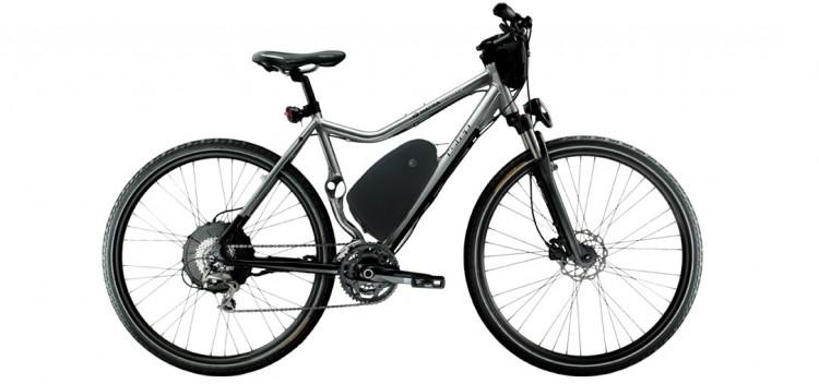 Le vélo électrique BUZIBI Matra I-Step Cross