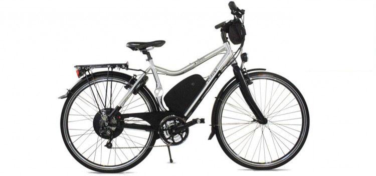 Le vélo électrique BUZIBI Matra I-Step Tourer