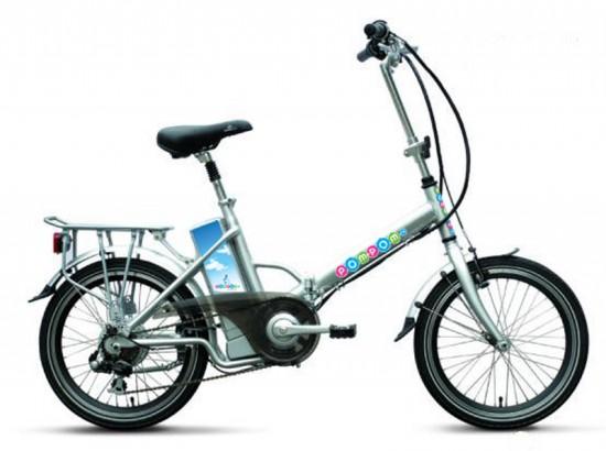 Le vélo électrique pliant BUZIBI Pom-Pom 007