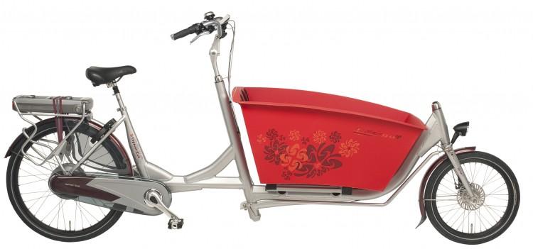 Le vélo électrique BUZIBI Sparta E-Kargo