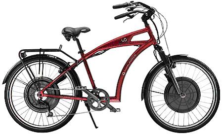 Le vélo électrique BUZIBI Tidal Force Io-Cruiser