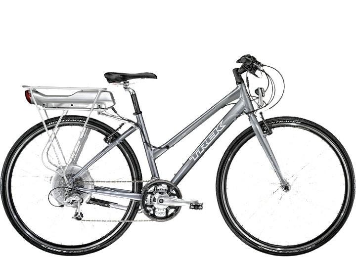 Le vélo électrique BUZIBI Trek FX+ E Dames