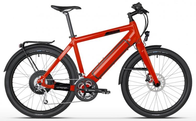 Vélo électrique STROMER ST-1 Mountain 25 carbon, H, 27 vit, rouge