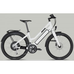 Vélo électrique STROMER ST-1 Mountain 25 carbon, Mixte, 27 vit, blanc