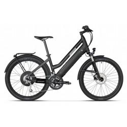 Vélo électrique STROMER ST-1 Mountain 25 susp, Mixte, 27 vit, noir