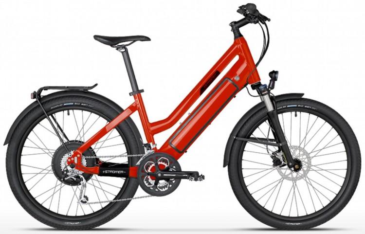 Vélo électrique STROMER ST-1 Mountain 25 susp, Mixte, 27 vit, rouge