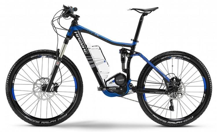 """vélo électrique HAIBIKE XDURO FS RC 26"""" H 2014"""