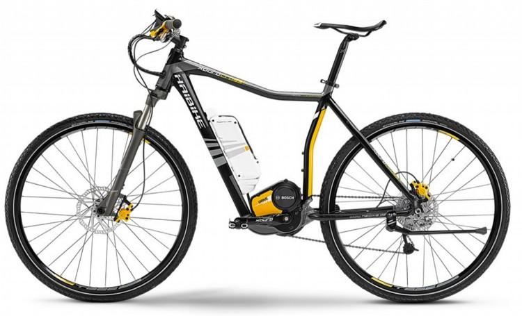 """vélo électrique HAIBIKE CROSS SL 28"""" H 2014"""