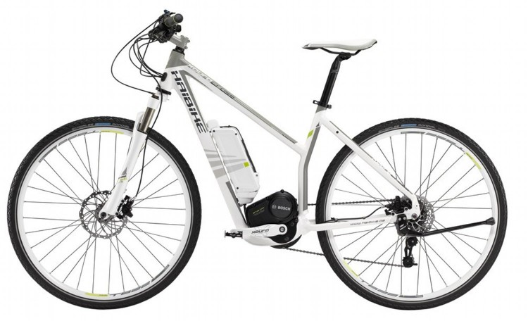 vélo électrique HAIBIKE XDURO CROSS T 2014