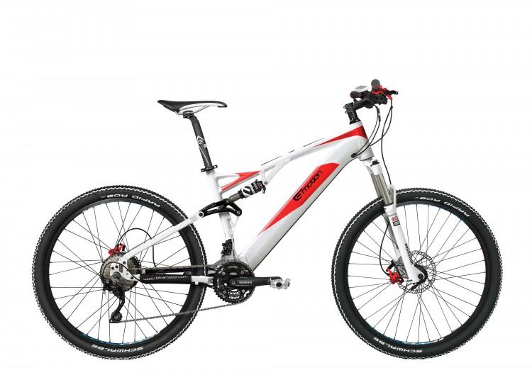 """Vélo électrique EVO JUMPER 27,5"""" PRO 2016"""