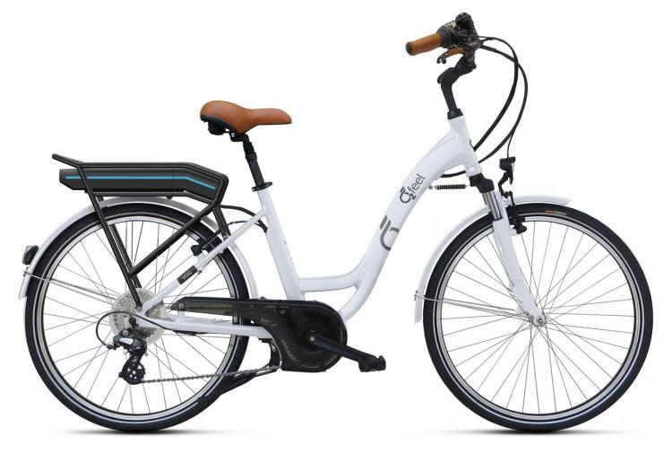 """Vélo électrique O2FEEL VOG OES D8C 26"""" 2018"""