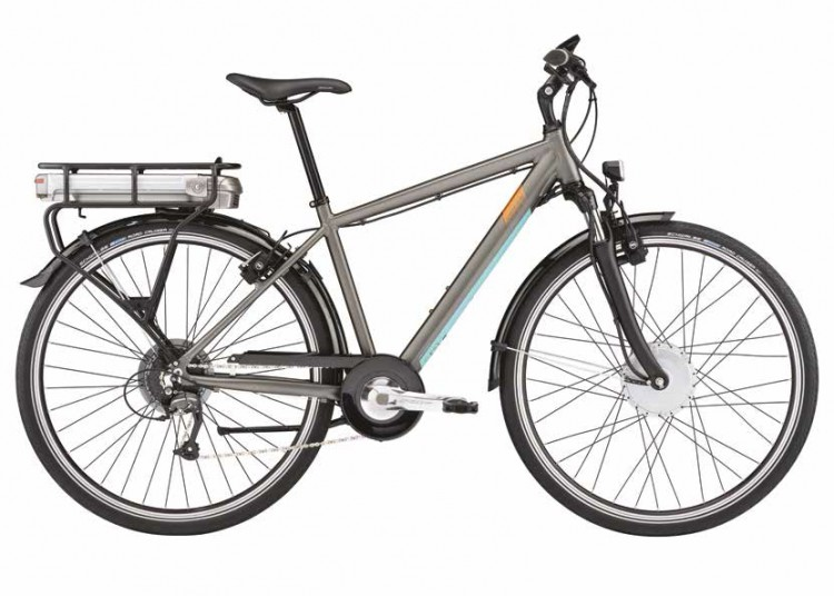 Vélo électrique LAPIERRE OVERVOLT TREKKING 100 & 100W 2018