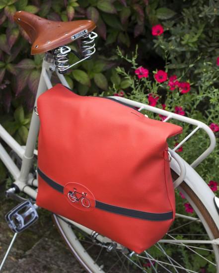 """Sacoche vélo """"Musettes et Compagnie"""" POUPOU"""