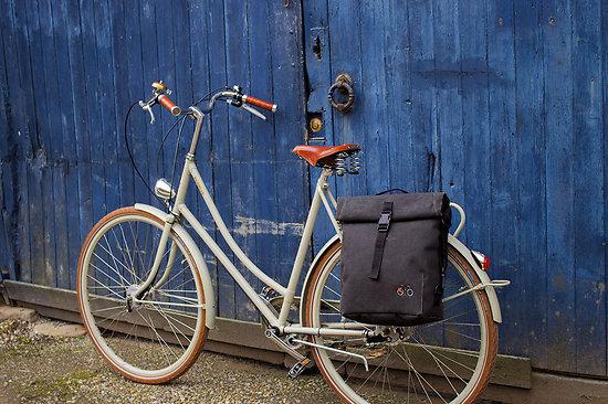 """Sacoche vélo """"Musettes et Compagnie""""BERNARD"""""""